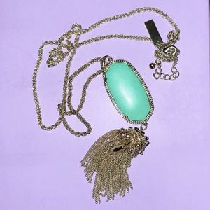 Teal Rayne Necklace
